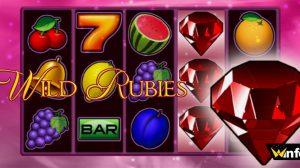 wild rubies slot winfest